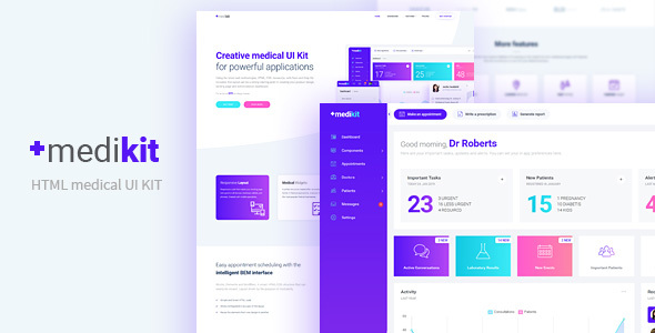 Medical Dashboard download free Themeforest - nulled scripts