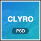 Clyro - Isometric Agency PSD Template - ThemeForest Item for Sale