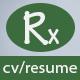 Rx-Resume Portfolio & Resume HTML5 Template - ThemeForest Item for Sale