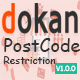 Dokan Postcode Restriction - CodeCanyon Item for Sale
