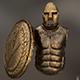set of armor greek warrior - 3DOcean Item for Sale