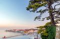 Panoramic view of old coastal town Piran, Slovenia - PhotoDune Item for Sale