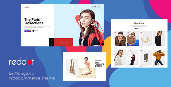 Reddot - Minimal & Modern WooCommerce WordPress Theme