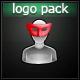 High Tech Glitch Logo Pack