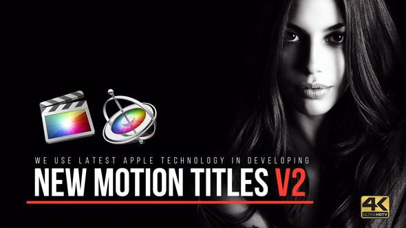 Motion Titles 4k