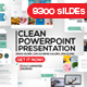 Clean Powerpoint Presentation - GraphicRiver Item for Sale