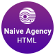 Naive Creative Digital Agency Template - ThemeForest Item for Sale