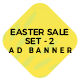 Easter Sale Set-2 Ad Banners - CodeCanyon Item for Sale