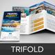 Travel Trifold Brochure Design Template v5 - GraphicRiver Item for Sale