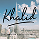 Khalid - with Swash - GraphicRiver Item for Sale