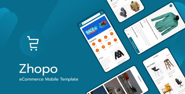 Zhopo - eCommerce Mobile Template