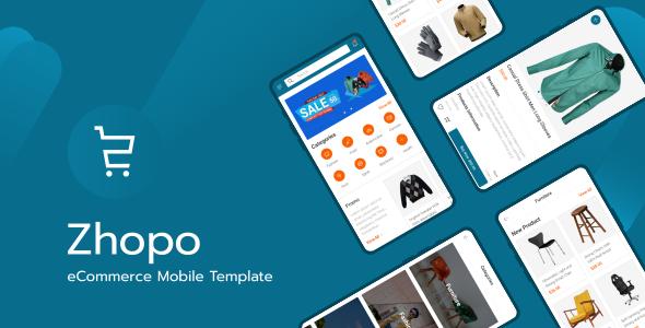 Zhopo - eCommerce Mobile Template