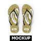 Flip Flop Slipper Mockup - GraphicRiver Item for Sale