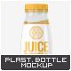Plastic Juice Bottle Mock-Up - GraphicRiver Item for Sale