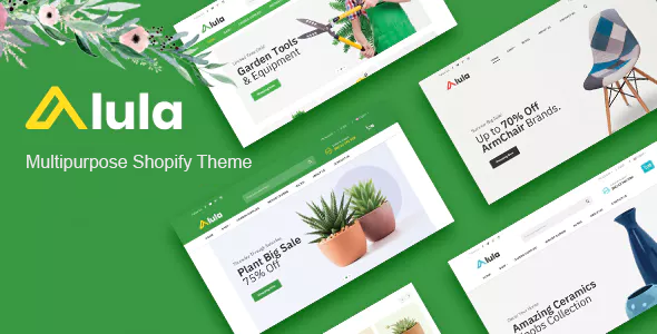 Multipurpose Responsive Shopify Theme - Alula