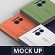 Business Card Mockup Stack Square Format - GraphicRiver Item for Sale