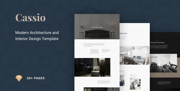 Cassio – Modern Architecture Sketch Template