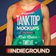 Men Tank Top Mockups - GraphicRiver Item for Sale