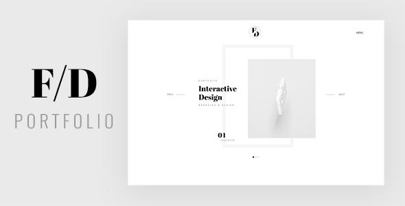 FD – Creative Minimal Portfolio Template