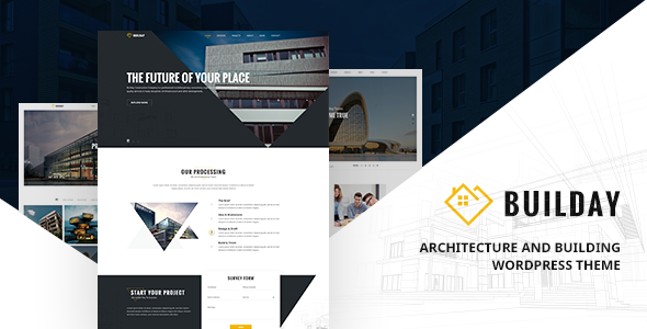 Builday - Modern Architech And Building WordPress Theme