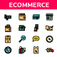 Ecommerce - Filled Line - GraphicRiver Item for Sale