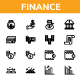Finance - Line Icon style - GraphicRiver Item for Sale