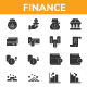 Finance - Glyph Icon style - GraphicRiver Item for Sale