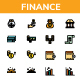 Finance - Filled Line - GraphicRiver Item for Sale