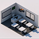 Low poly Classroom - 3DOcean Item for Sale