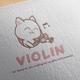 Violin Logo Design - GraphicRiver Item for Sale
