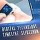 Digital Technology Timeline Slideshow - VideoHive Item for Sale