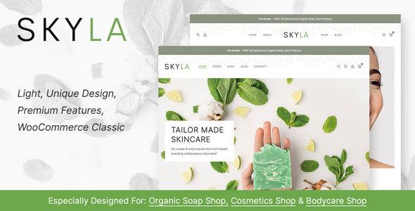 Skyla - Cosmetic WooCommerce Theme