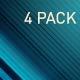 Slash Design - Video Banners  ::4 COLORS:: - VideoHive Item for Sale