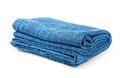 Folded blue blanket - PhotoDune Item for Sale