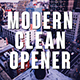 Modern Clean Opener - VideoHive Item for Sale