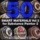 Substance Painter Smart Materials Vol. 2 - 3DOcean Item for Sale