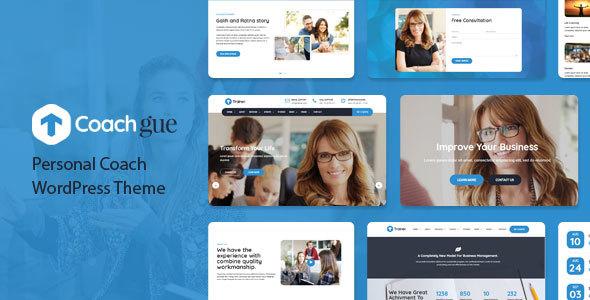 Coachgue - Personal Coach WordPress Theme