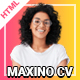 Maxino - Personal Resume HTML5 Template - ThemeForest Item for Sale