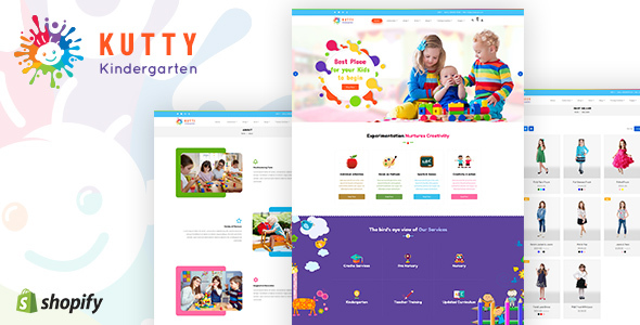 Kutty Kids   Children, Kids Shopify Theme