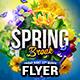 Spring Break Flyer Template - GraphicRiver Item for Sale