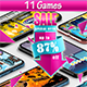 11 ANDROID GAMES!!! SUPER BUNDLE №1 - CodeCanyon Item for Sale