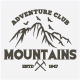 Mountains Logos and Badges - GraphicRiver Item for Sale
