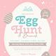 Easter Easter Egg Hunt & Brunch Flyer - GraphicRiver Item for Sale