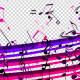 Colorful Music Notes Strokes - VideoHive Item for Sale