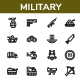 Military Icon - Line Style - GraphicRiver Item for Sale