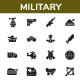 Military - Glyph - GraphicRiver Item for Sale