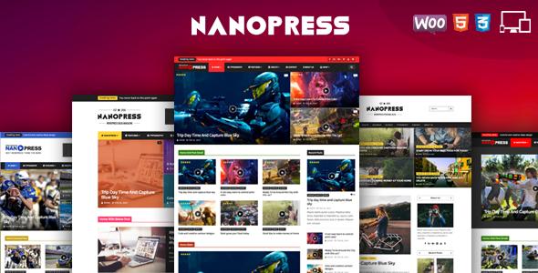 Nanopress - WordPress Responsive Blog & Magazine Theme