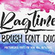 Ragtime - Brush Font Duo - GraphicRiver Item for Sale
