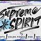Supreme Spirit Brush Font - GraphicRiver Item for Sale