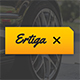 Ertiga - Sport Car Google Slides Template - GraphicRiver Item for Sale